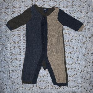 Baby Gap cable knitted one piece